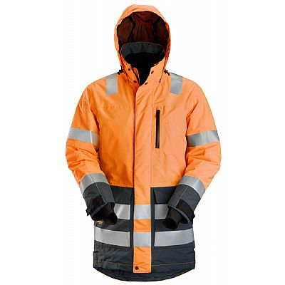 Snickers High-Vis Waterdichte Parka, KL 3 (SNI1830)
