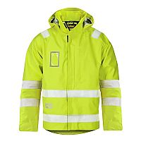 Snickers Waterproof Jack High Visibility, Klasse 3