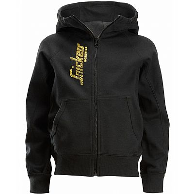 Snickers Junior Logo Full Zip Hoodie (SNI7508)